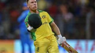 India vs Australia 2020 1st ODI: David Warner Becomes Fastest Australian Batsman to Amass 5000 ODI Runs